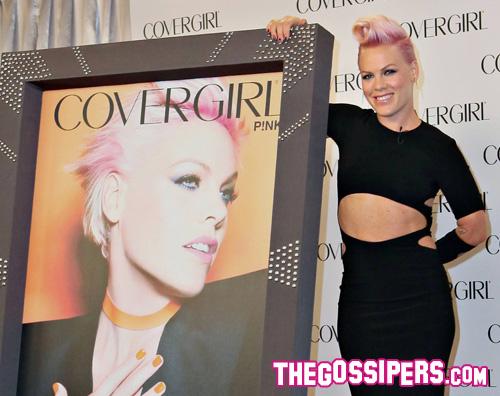 covergirl Pink è il nuovo volto di CoverGirl