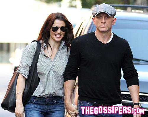 daniel craig rachel Daniel Craig e Rachel Weisz mano nellla mano a New York