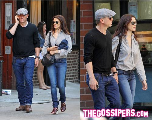 daniel rachel2 Daniel Craig e Rachel Weisz mano nellla mano a New York