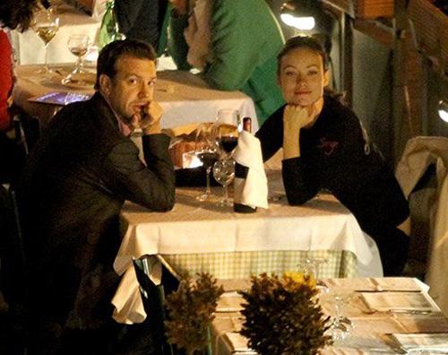jason olivia cena Vacanza romantica per Jason Sudeikis e Olivia Wilde