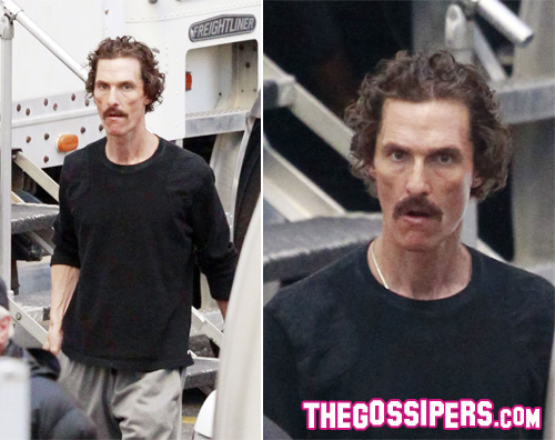 matthew magro Matthew McConaughey pelle e ossa per The Dallas Buyers Club