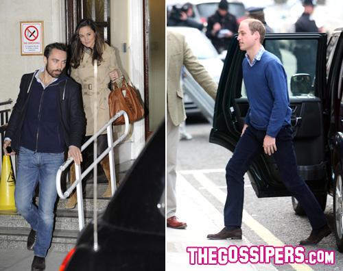 will pipap Pippa e il fratello fanno visita a Kate in ospedale