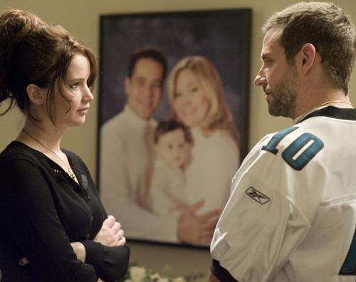Silver Linings Playbook Bradley Cooper Jennifer Lawrence Bradley Cooper promuove Il lato positivo