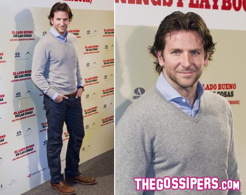 bradley.lato .positivo Bradley Cooper promuove Il lato positivo