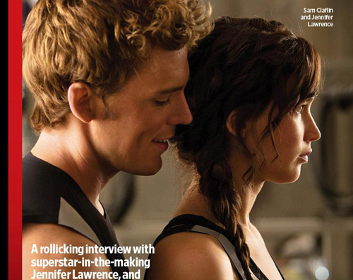 ew catching2 Le prime immagini di Catching Fire, il sequel di Hunger Games