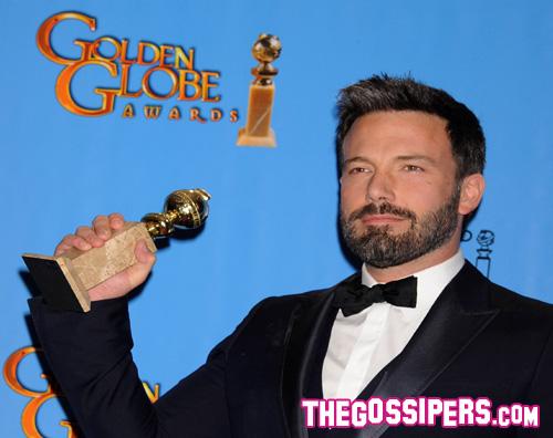 goldenglobes Ben Affleck trionfa ai Golden Globes 2013