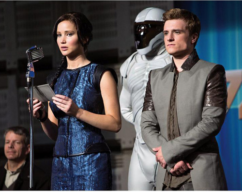 jennifer josh Le prime immagini di Catching Fire, il sequel di Hunger Games