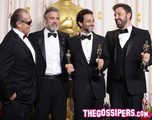 affleck Oscar 2013: Argo e gli altri vincitori