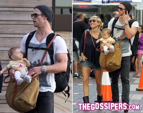chris2 Chris Hemsworth è un tenero papà