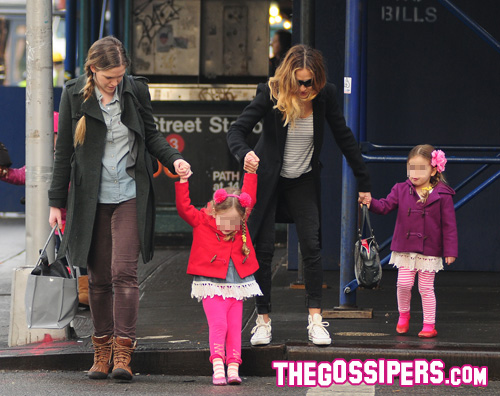 gemelle Sarah Jessica Parker mamma a tempo pieno