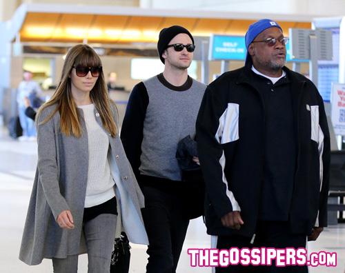 j guardia Jessica e Justin insieme in aeroporto