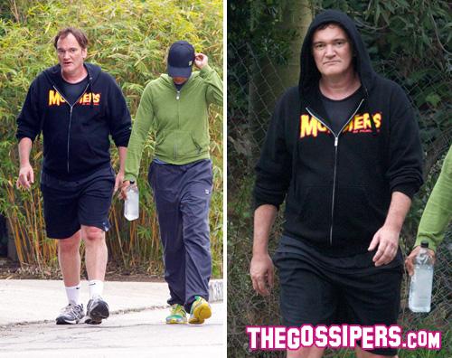 tarantino Quentin Tarantino vuole perdere qualche chilo