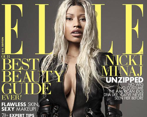 ellenick Nicki Minaj è (quasi) senza trucco su Elle