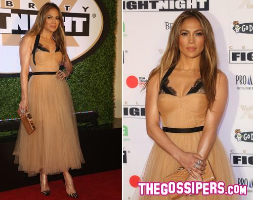 jlo Jennifer Lopez a Phoenix per beneficienza