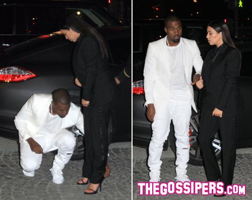kim kanye Kanye West è un gentiluomo per la sua Kim