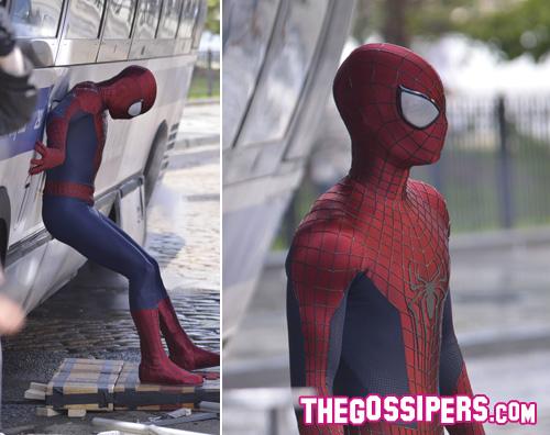 ad Andrew Garfield ancora al lavoro per The Amazing Spiderman 2