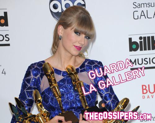 taylor Taylor Swift trionfa ai Billboard Music Awards