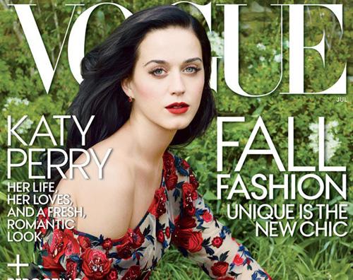 vogue katy copertina Katy Perry parla del suo divorzio su Vogue