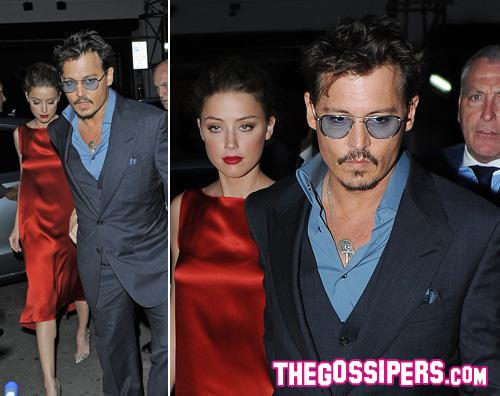 loneranger amber heard Johnny Depp continua la promozione di Lone Ranger