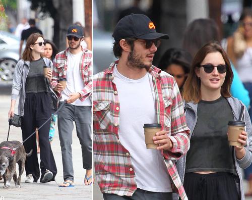 adam rachel Adam e Leighton, passeggiata a Venice Beach