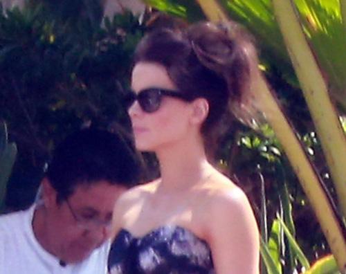 beckinsale Prova costume anche per Kate Beckinsale