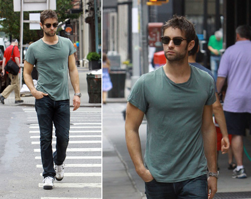chace Chace Crawford a spasso per NY
