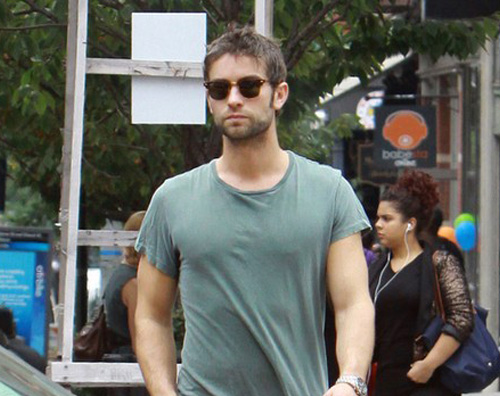 chace1 Chace Crawford a spasso per NY