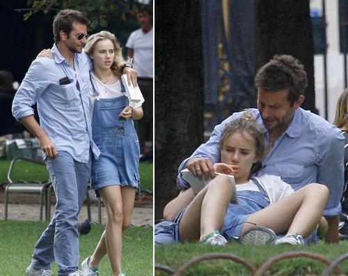 cooper1 Bradley Cooper innamorato a Parigi
