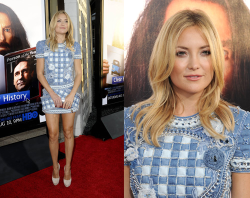 kate hudson2 Kate Hudson sceglie il denim sul red carpet