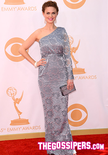 emily deschanel emmy awards 2013 gossip