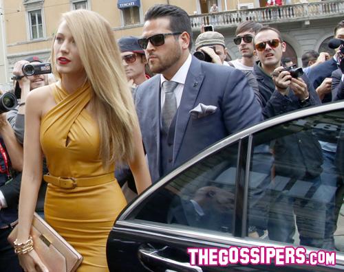 blake milano Blake Lively a Milano per la sfilata di Gucci