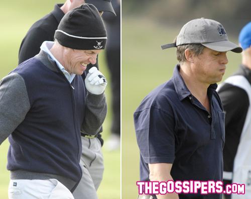 grant golf2 Hugh Grant si è dato al golf