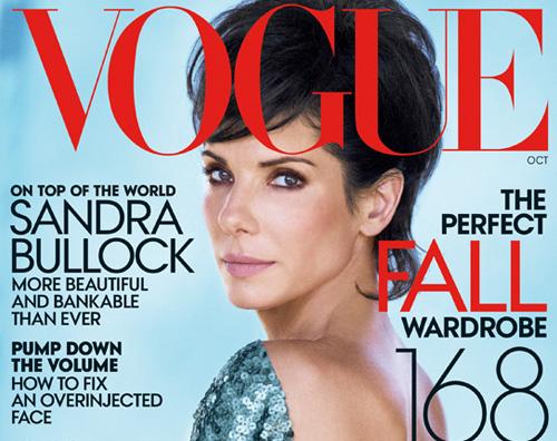 sandra vogue Sandra Bullock elegante per Vogue