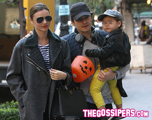 Cover4 Miranda Kerr e Orlando Bloom insieme a New York