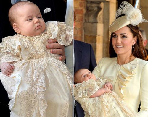 batte Kate e William battezzano il piccolo George