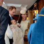 battesimo1 150x150 Kate e William battezzano il piccolo George