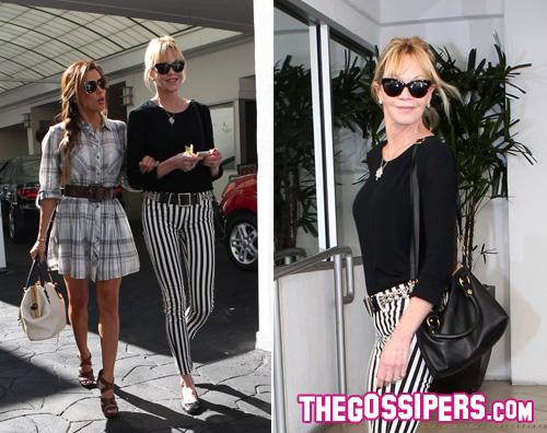 melni2 Shopping tra amiche per Eva e Melanie
