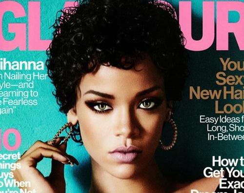 ririglamour Rihanna protagonista sulla rivista Glamour
