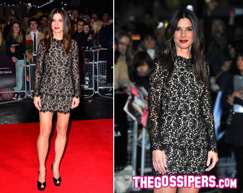 sabdra2 Sandra Bullock sul red carpet del London Film Festival