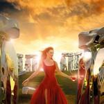 HumaTruman9 150x150 Uma Thurman protagonista del calendario Campari 2014