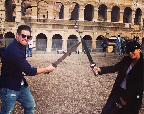 jloroma1 Jennifer e Casper innamorati a Roma