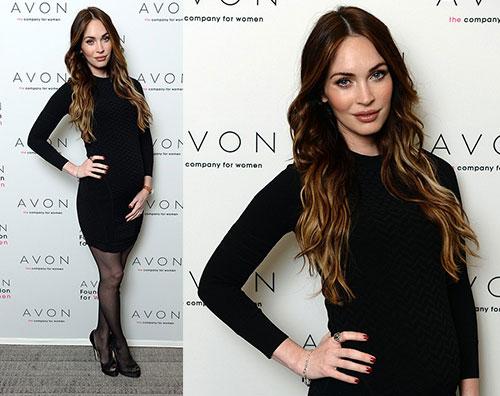 megan brian2 Megan Fox sfoggia il pancione sul red carpet