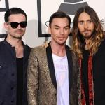 30SecondsToMars e JaredLeto 150x150 Grammy Awards 2014: tutte le star sul tappeto rosso