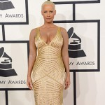 AmberRose 150x150 Grammy Awards 2014: tutte le star sul tappeto rosso