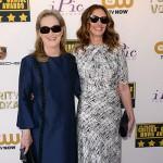 Meryl e Julia 150x150 Critics Choice Awards 2014: le foto dal red carpet