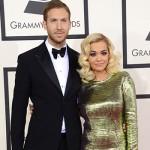RitaOra e CalivinHarris 150x150 Grammy Awards 2014: tutte le star sul tappeto rosso