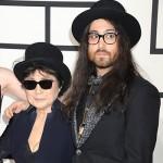 SeanLennon e YokoOno 150x150 Grammy Awards 2014: tutte le star sul tappeto rosso
