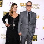 Tom Hanks Rita Wilson 150x150 Critics Choice Awards 2014: le foto dal red carpet