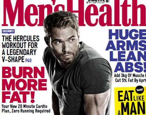 kellan Kellan Lutz parla del suo fisico su Mens Health