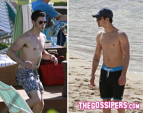 nickjoe2 Vacanze alle Hawaii per Joe e Nick Jonas